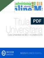 Curso Universitario de SEO + 4 Créditos ECTS