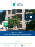 Toronto Board of Trade Transit Financing Report