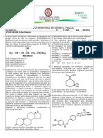 Ava Liação Bimestral de Química 3 Ano - 1 Chamada