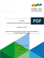 Informe de Avance 1 Propuesta Expansión STT 2016
