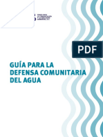 Guia Defensa Com Unit Aria Del Agua