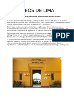 Museos de Lima