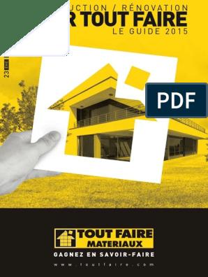 Guide Catalogue Toutfaire 2015 Isolation Thermique Fenêtre