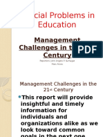 21st century management challenges