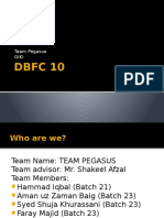 DBFC 10 Presentation