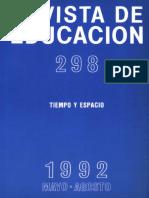 Revista Educativa Tiempo y Espacio