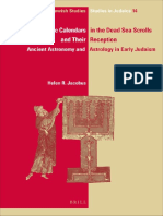 (Ijs Studies in Judaica) Helen R. Jacobus-Zodiac Calendars in the Dead Sea Scrolls and Their Reception_ Ancient Astronomy and Astrology in Early Judaism-Brill Academic Pub (2014).pdf