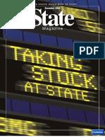 State Magazine, December 2003