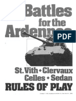 Battles for the Ardennes Rules