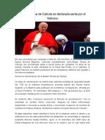 Madre Teresa de Calcuta Es Declarada Santa Por El Vaticano