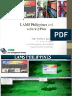 LAMS & ESurveyPlan Region VI