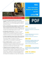 RDC Note Info Epidemie Cholera Aout 2016