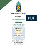 Curriculum Del Docente Dominicano
