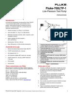 Manual Bomba Fluke Baja Presion