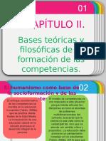 Bases Teoricas y Filosoficas de La Formacic3b3n de Competencias