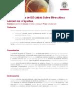 Auditor Interno SGP ISO 21500