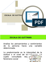 Escala de Guttman