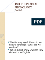English Phonetics and Phonology (Materi Week 2)2013-2014