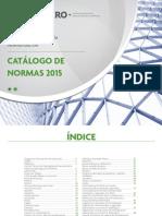 Catalogo Normas Mayo 2015