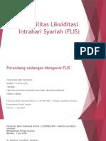 Fasilitas Likuiditasi Intrahari Syariah (FLIS) Fix