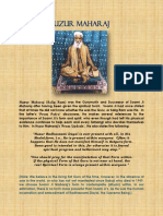 HUZUR MAHARAJ Absence of Sat Guru PDF