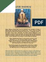 HUZUR MAHARAJ Absence of Sat Guru PDF