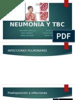 Neumonia y Tbc