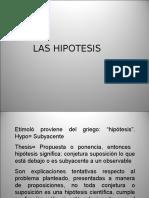 5. LAS HIPOTESIS.ppt