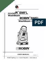 User Manual Robin BMFL WashBeam