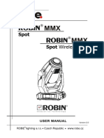 User Manual Robin MMX Spot