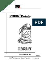 User Manual Robin Pointe