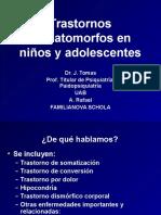 Trastornos Somatomorfos en Ninos y Adolescentes