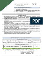 Prueba diagnostica Biología 1ª 2016 - 2017