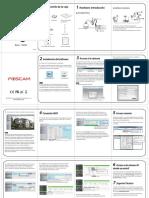 Camara IP FI9828W Guia de Instalacion Rapida Para Windows y Mac Es