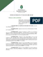 Instrução Normativa nº 27, de 2016