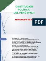Constitucion Politica 1993 52-77