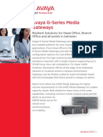 G-Series Media Gateways - UC7747