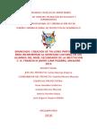 Proyecto de comunicación para el desarrollo