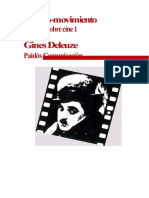 DELEUZE, Estudios Sobre Cine 1