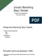 Diagnosis Banding Bayi Sesak