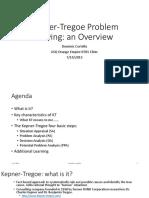 kepner-tregoe problem analysis case study