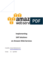 Sap on Aws Implementation Guide v2.11