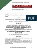 Ley Propiedad Condominio Df