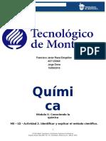 MII - U2 - Actividad 2. Identificar y Explicar El Método Científico.