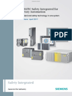SIMATIC Safety Integrated for Factory Automation Standard and safety technology in one system Brochure April 2011.pdf