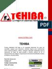 Productos y Soluciones TEHIBA 2016