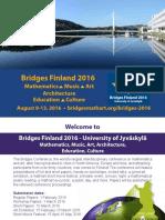 Bridges Finland 2016 Invitation