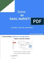 c3 Email Marketing-Creación y Envío de Newsletters