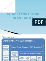 Sharepoint 2010 novedades