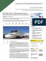 """El Titular Ficticio_ """"El Maquinista de Un Tren Evita Un Accidente Con 109 Pasajeros"""" Noticias, Última Hora"""